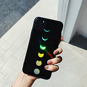 cheap iPhone Cases-Laser Moon TPU Protection Cover for Apple iPhone Case 11 Pro Max X XR XS Max 8 Plus 7 Plus SE(2020)