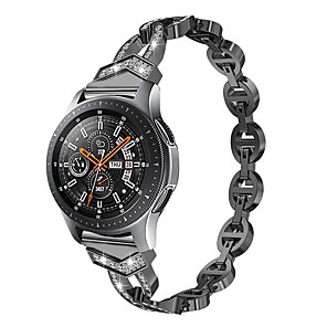cheap Phone Mounts & Holders-Watch Band for Samsung Galaxy Watch Active 2 / Galaxy Watch 3 41mm Samsung Galaxy Classic Buckle / Jewelry Design Stainless Steel Wrist Strap