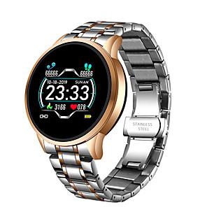 cheap Smartwatches-LIGE Men's Digital Watch Digital Modern Style Sporty Outdoor Water Resistant / Waterproof Stainless Steel Digital - Golden+Silver Black Silver