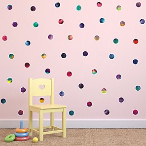 cheap Wall Stickers-Stars Wall Stickers Plane Wall Stickers Decorative Wall Stickers PVC Home Decoration Wall Decal Wall Window Decoration 7pcs