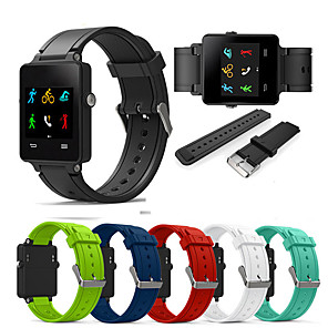 cheap Smartwatch Bands-Silicone Sports Bracelet Watch Band for Garmin Vivoactive Acetate Replacement Wristband Silicone Bracelet Watch Strap Band for Garmin Vivoactive Acetate