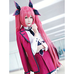 cheap Anime Costumes-Inspired by Date A Live Kotori Itsuka Anime Cosplay Costumes Japanese Outfits Coat Blouse Dress For Women's / Socks / Tie / Brooch / Hair Accessories
