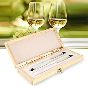 cheap Testers & Detectors-Hydrometeer Alcohol Meter Alcoholmeter Density Meter Measure Instruments Alcohol Hydrometer Wine Measure Vodka Whiskey Test