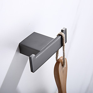 cheap Bathroom Accessory Set-Robe Hook New Design Contemporary Stainless Steel Bathroom Wall Mounted