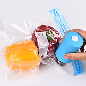 cheap novelty kitchen tools-USB Household Food Vacuum Sealer Packaging Machine Sealer Handheld Vacuum Packer Send 5Pcs Recycle Bags Vacuum Sealer Food Saver