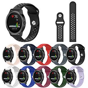 cheap Smartwatch Bands-Wrist Silicone Strap for Garmin Vivoactive 3 Smart Bracelet Watch Band Wristband Sport Silicone Watchband Strap for Garmin Vivoactive 3 / Vivoactive 3 Music