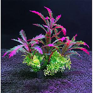 cheap Aquarium Décor & Gravel-Fish Tank Aquarium Decoration Fish Bowl Waterplant Artificial Plants Plastic 27*25 cm