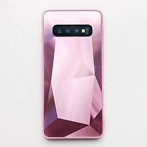 cheap Samsung Case-Case For Samsung Galaxy S20 Ultra/ A51/ Note 10 Plus Ultra-thin Back Cover Glitter Shine TPU / Acrylic / PC For Galaxy A10/A60/A71/S9/Note 9/J6 Plus/J8 2018/S10E