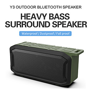 cheap Outdoor Speakers-X2 Wireless Outdoor Speaker Outdoor Portable Waterproof IPX7 For Mobile Phone