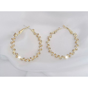 cheap Earrings-Women's Earrings Classic Love Classic Vintage Earrings Jewelry White For Gift Daily 1 Pair