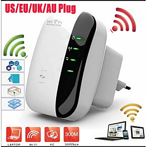 cheap Mobile Signal Boosters-New Upgrade 300Mbps Wireless Wifi Repeater 2.4G AP Router Signal Booster Extender Amplifier