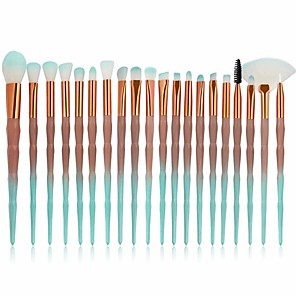 cheap Makeup Brush Sets-Professional Makeup Brushes Blush Brush 20pcs Full Coverage for Eyeliner Brush Blush Brush Foundation Brush Lip Brush Eyeshadow Brush Eyelash Brush Powder Brush