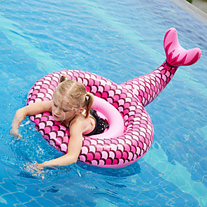 cheap Inflatable Ride-ons & Pool Floats-Swim Rings Inflatable Pool Inflatable Swimming Pool Kids Pool Water Pool for Kids Fun Novelty Silica Gel Plastic Summer Swimming 1 pcs Kid's Adults Kids Adults'