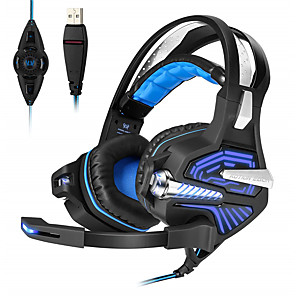 cheap Gaming Headsets-KOTION EACH GS100 Esports Game Vibration Headset Headset Computer Headset with Microphone Subwoofer USB