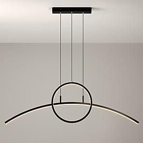 cheap Circle Design-Max 30W 90 cm Single Design Pendant Light Metal Modern Style Painted Finishes LED / Modern 110-120V / 220-240V