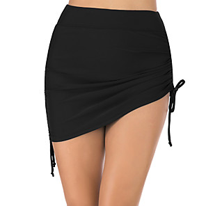 cheap Wetsuits, Diving Suits & Rash Guard Shirts-Women's Swim Shorts Elastane Bottoms Breathable Quick Dry Swimming Surfing Water Sports Solid Colored Summer / Stretchy