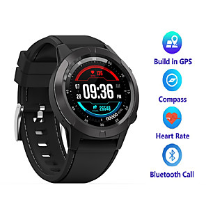 cheap Smartwatches-A4 Men Women Smartwatch Android iOS Bluetooth Waterproof Touch Screen GPS Heart Rate Monitor Blood Pressure Measurement Timer Stopwatch Pedometer Call Reminder Activity Tracker