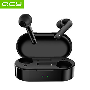 cheap TWS True Wireless Headphones-QCY T3 TWS True Wireless Earbuds Wireless Bluetooth 5.0 Stereo Waterproof IPX4 Auto Pairing Headphone