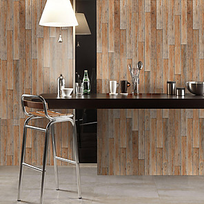 cheap Wall Stickers-Waterproof And Wear-resistant Color Wood Grain Stickers Wall Stickers Floor Stickers