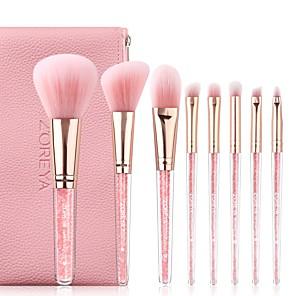 cheap Makeup Brush Sets-Professional Makeup Brushes 8pcs Soft Artificial Fibre Brush Plastic for Foundation Brush Makeup Brush Set