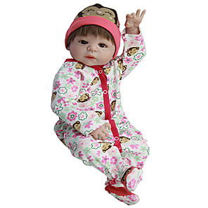 cheap Dolls Accessories-Reborn Baby Dolls Clothes Reborn Doll Accesories Cotton Fabric for 22-24 Inch Reborn Doll Not Include Reborn Doll Monkey Soft Pure Handmade Girls' 3 pcs