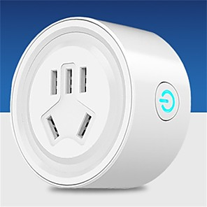 cheap Smart Plug-LITBest Smart Plug Wifi wireless socket national standard for Living Room / Study / Bedroom APP Control / Smart / Voice Control WIFI 110-240 V