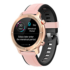 cheap Smart Wristbands-R4 Android and iOS Phone IP68 Waterproof Smart Watch with Menstrual reminder Heart Rate Monitor Step Sleep Tracker Smartwatch