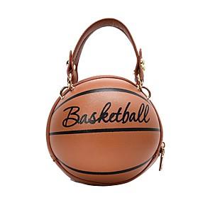 cheap Handbag & Totes-Women's Bags PU Leather Crossbody Bag Zipper for Daily White / Black / Blushing Pink