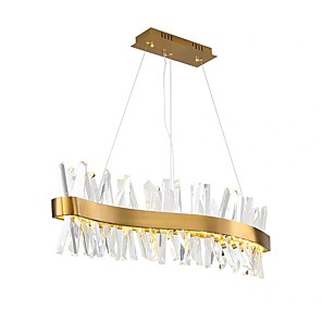 cheap Pendant Lights-100 cm Unique Design Chandelier Metal Electroplated Modern 110-120V 220-240V