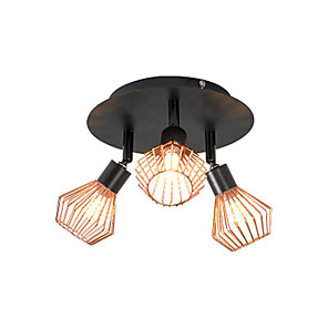 cheap Dimmable Ceiling Lights-Ceiling Led Bedroom Simple Decoration Adjustable Three-Head G9 Ceiling Spotlights