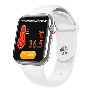 cheap Smartwatches-W98S smart watch body temperature detection Bluetooth call bracelet heart rate blood pressure oximeter step smart bracelet
