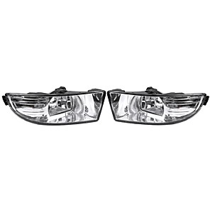cheap Car Body Decoration & Protection-Pair Car Front Halogen Fog Lights for Skoda Octavia A5 A6 MK2 FL 2009-2013