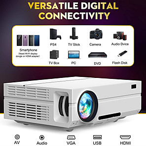 cheap Projectors-LITBest T60 LED Projector 220 lm Android Support
