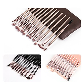 cheap Makeup Brush Sets-Professional Makeup Brushes 12pcs Soft Plastic for Foundation Brush Eyeshadow Brush Makeup Brush Set