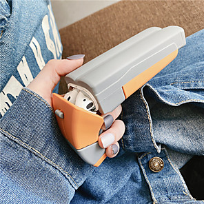 cheap Earphone Accessories-Case For AirPods Shockproof / Dustproof / Cool Headphone Case Soft