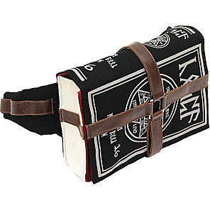 cheap Videogame Cosplay Accessories-Bag Cosplay Accessories Itemya Book Of Magic Bag Inspired by Cosplay Anime Cosplay Accessories 1xBag Canvas Halloween Costumes