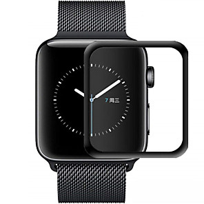 cheap Smartwatch Bands-3D Curved Edge HD Tempered Glass for Apple Watch Series 3 2 1 38MM 42MM Screen Protector film for iWatch 4/5 40MM 44MM Full glue