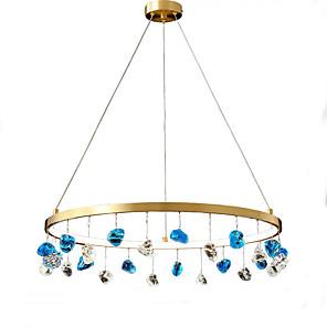 cheap Pendant Lights-QIHengZhaoMing 60 cm Lantern Desgin Chandelier Metal Brass Modern 110-120V / 220-240V