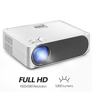 cheap Projectors-LITBest AKEY6 LED Projector 5800 lm Android Support