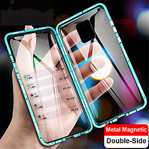 cheap Xiaomi Case-Magnetic Case for Xiaomi Mi 10 10 Pro Note 10 Note 10 Pro CC9 Pro 9T 9T Pro Redmi Note 9 Note 9S Note 9 Pro Note 9 Pro Max Note 8 Note 8 Pro K20 K20 Pro Metal Double Sided Glass Phone Protective Case