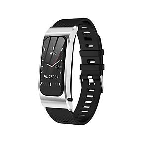 cheap Smart Wristbands-R21 Men Smart Bracelet Bluetooth headset SmartWatch Heart Rate Monitor Women Sport WirstBand Fitness Tracker Music Ear-hook earphone