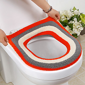 cheap Bathroom Gadgets-NewBathroom Toilet Seat Closestool Washable Soft Warmer Mat Cover Pad Cushion Health And Hygiene Machine Toilet Color Random