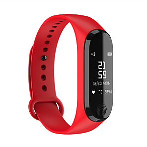 cheap Smartwatches-Y13 Unisex Smart Wristbands Android iOS Bluetooth Waterproof Heart Rate Monitor Blood Pressure Measurement Sports Long Standby Stopwatch Pedometer Call Reminder Sleep Tracker Alarm Clock