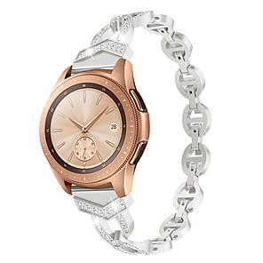 cheap Smartwatch Bands-20mm Women Diamond Bracelet for Garmin vivoactive3/vivomove HR sport / vivomove / Forerunner245 /Forerunner645 Quick Release Strap Metal Wrist Belt