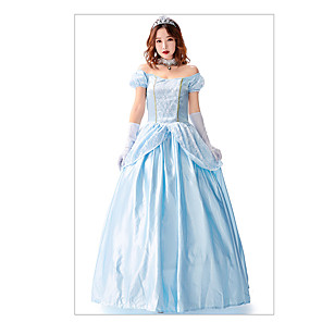 cheap Movie & TV Theme Costumes-Princess Animal Cosplay Costume Women's Christmas Halloween Carnival Festival / Holiday Terylene Women's Carnival Costumes Vintage / Dress / Dress