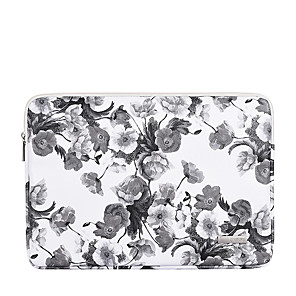 cheap Sleeves,Cases & Covers-11.6 12 13.3 14 15.6 Inch Laptop Sleeve PU Leather Floral Print Vine for Women for Business Office for Colleages Schools Waterpoof Shock Proof
