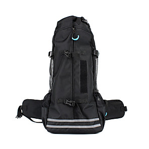 cheap Dog Travel Essentials-Dog Cat Pets Carrier Bag & Travel Backpack Travel Bag Portable Breathable Patchwork Oxford Cloth Small Dog Medium Dog Large Dog Outdoor Hiking Black Green Gray