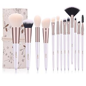 cheap Makeup Brush Sets-Professional Makeup Brushes 10pcs Professional Full Coverage Comfy Artificial Fibre Brush Wooden / Bamboo for Blush Brush Foundation Brush Makeup Brush Eyeshadow Brush / # / # / # / # / #