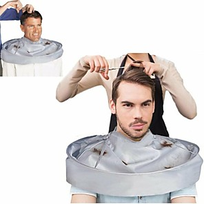cheap Bathroom Gadgets-Family Barber Cape Cloak Salon Hair Cutting Trimming Cover Umbrella Haircut Tool Accessories Warp Cloak