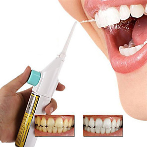 cheap Bathroom Gadgets-Dental Oral Irrigator Portable Water Flosser For Teeth With Nasal Irrigators Water Teeth Mouth Clean Oral Jet Nasal Cleaner